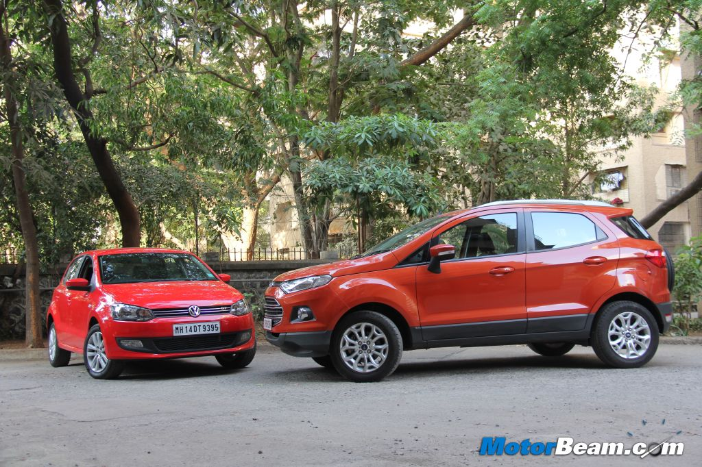 EcoSport SUV vs Polo GT