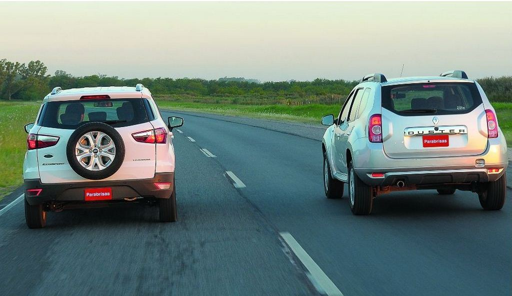 EcoSport vs Duster rear