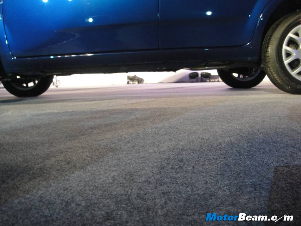 Fiat Punto 2012 Ground Clerance