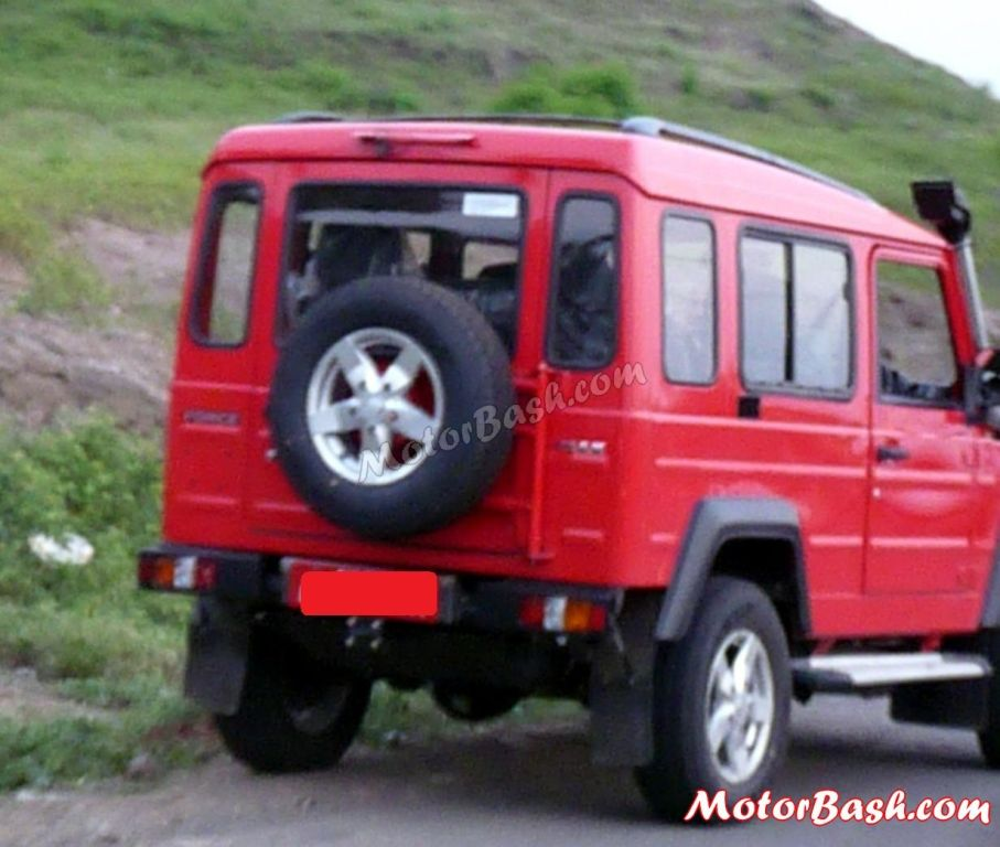 Force Gurkha 4-wheel drive