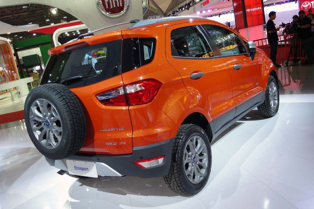 Ford EcoSport 4WD Rear