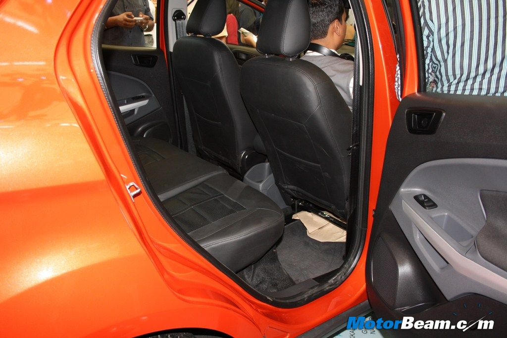 Ford EcoSport Rear Seat