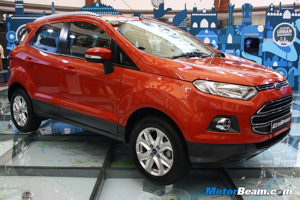 Ford EcoSport Side