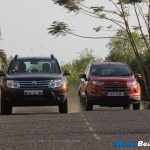 Ford EcoSport vs Renault Duster Shootout