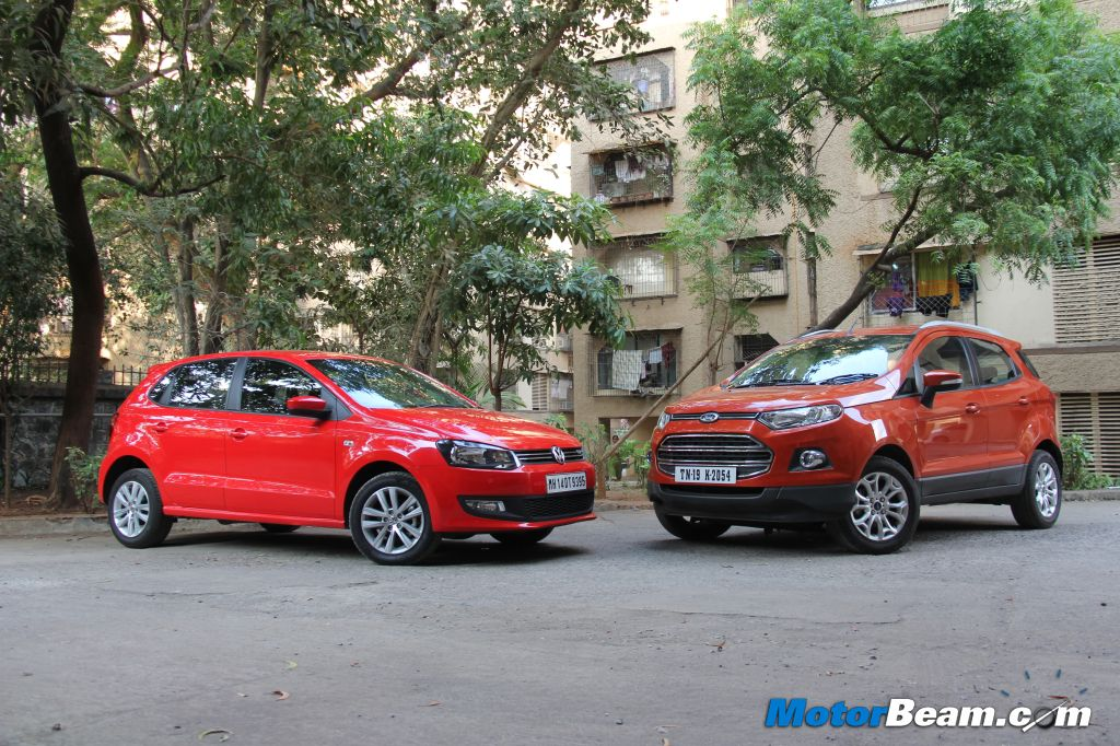 Ford EcoSport vs Volkswagen Polo