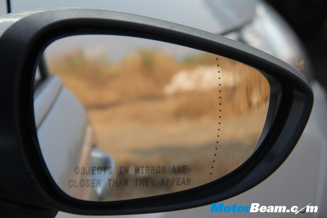 Ford Fiesta External Rear View Mirror