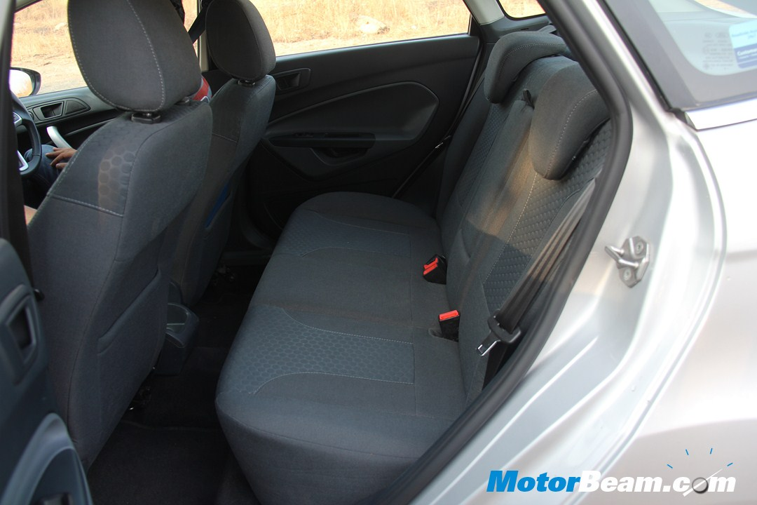 Ford Fiesta Rear Seat