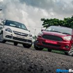 Ford Figo Aspire vs Maruti DZire Review