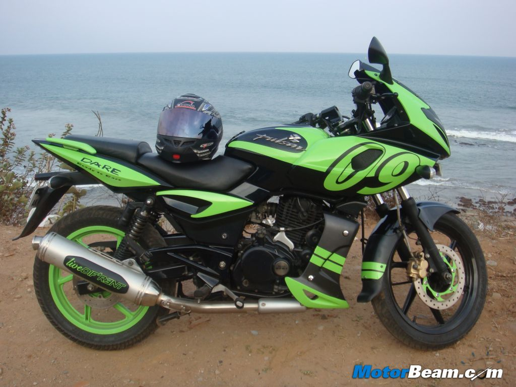 Venkata Deepak Narrates His Pulsar Modification Story