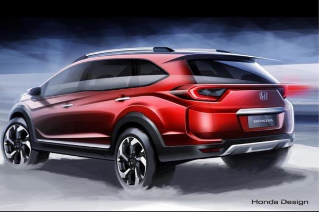 Honda considering compact suv br v for india initial study for Honda compact suv