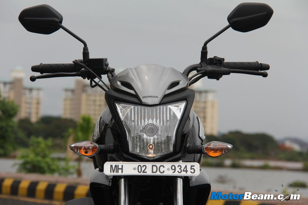 Honda CB Trigger Test Ride