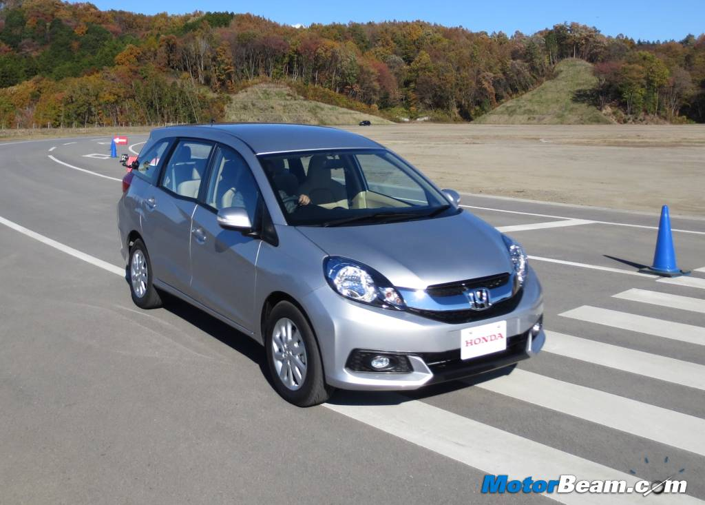 Honda Mobilio MPV Review