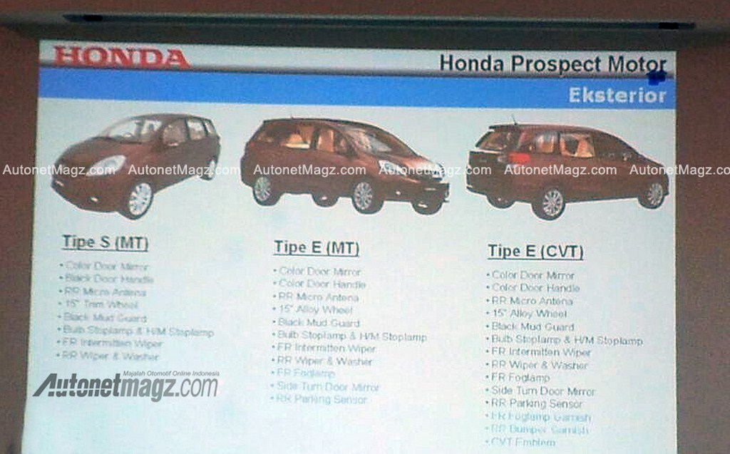 Honda Mobilio Screenshot