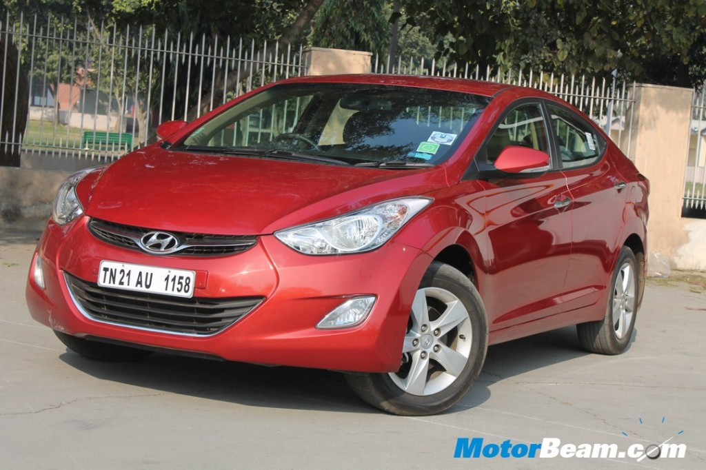 Hyundai Elantra 1.8 Petrol Test Drive Review