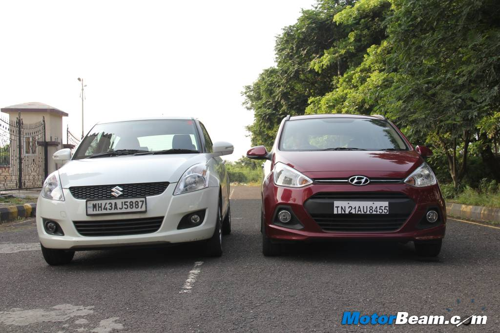 Hyundai Grand i10 vs Maruti Swift Comparison Review