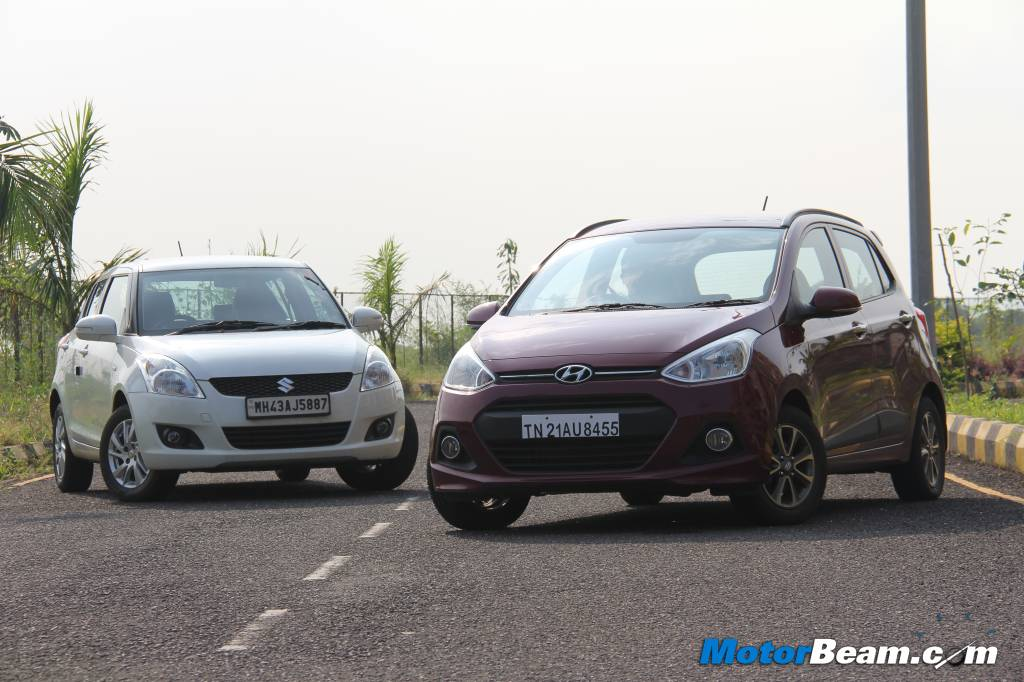 Hyundai Grand i10 vs Maruti Swift Review
