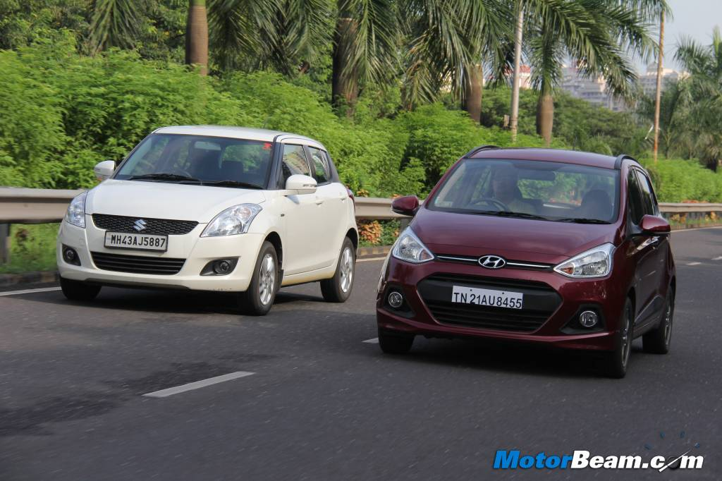 Hyundai Grand i10 vs Maruti Swift Road Test