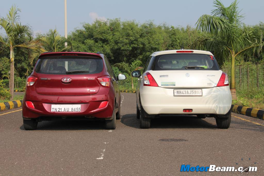 Hyundai Grand i10 vs Maruti Swift Test Drive Review