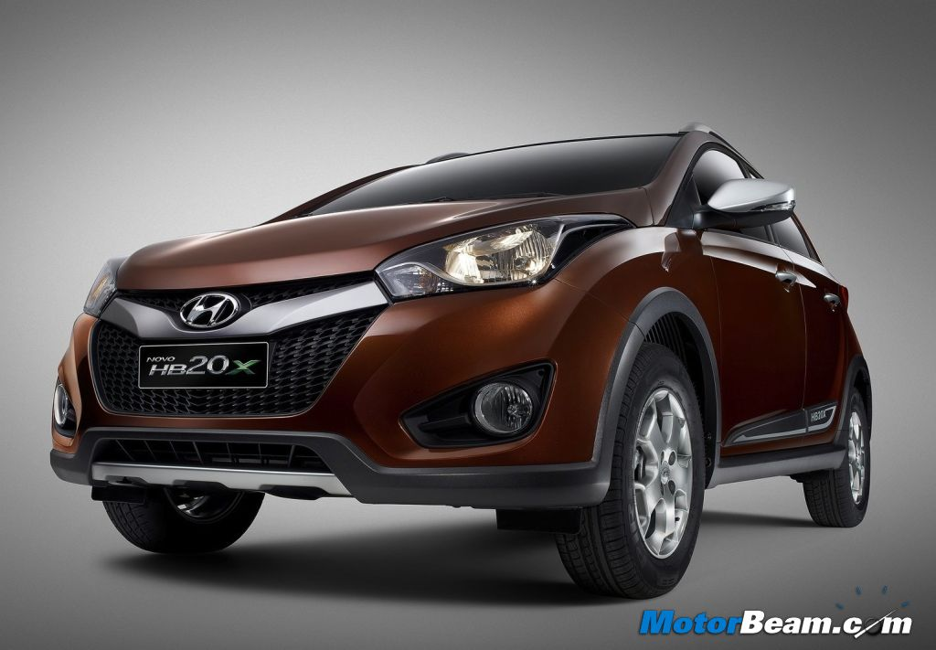 hyundai unveils hb20x crossover in brazil plus 9 more. Black Bedroom Furniture Sets. Home Design Ideas