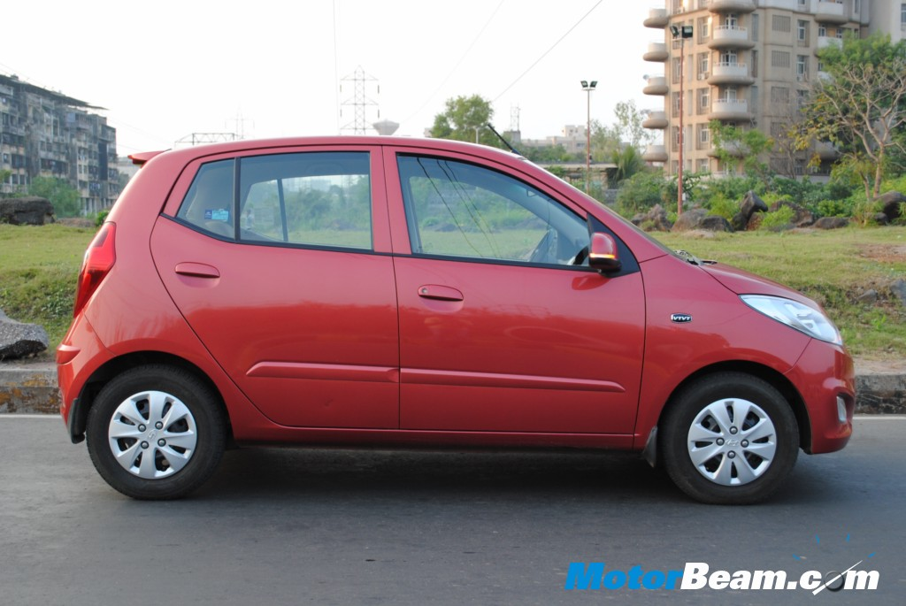 Hyundai i10 Side Profile