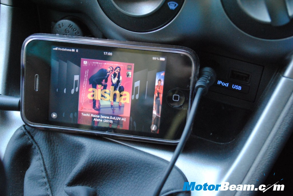 Hyundai i10 ipod connectivity