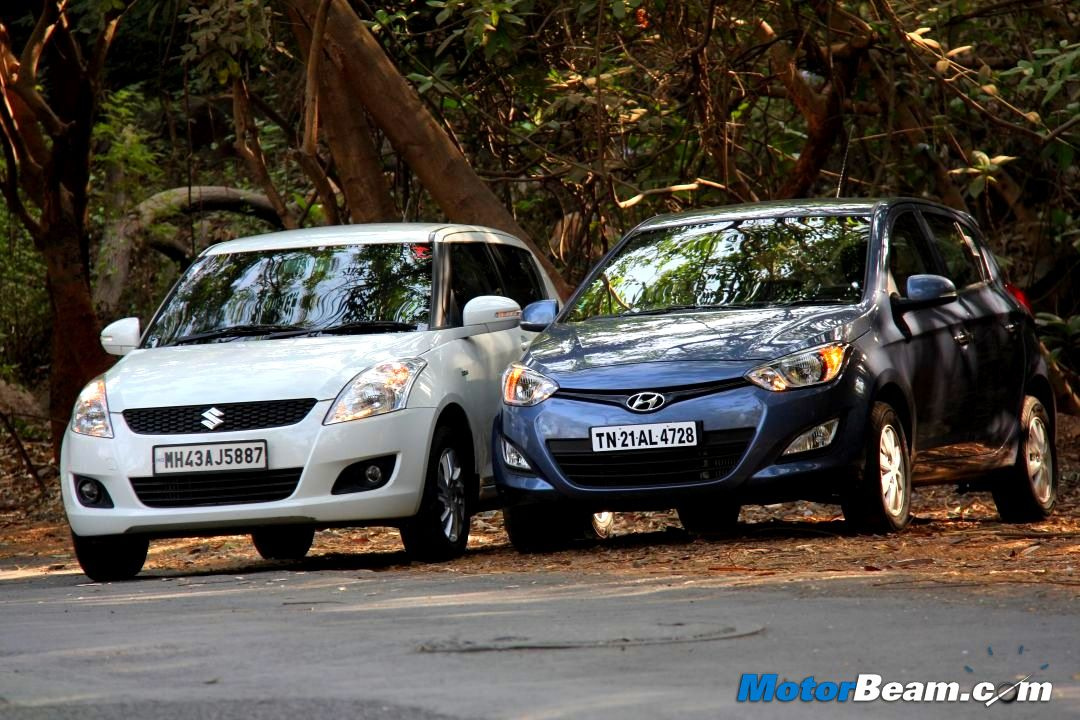 Hyundai i20 vs Maruti Swift Road Test