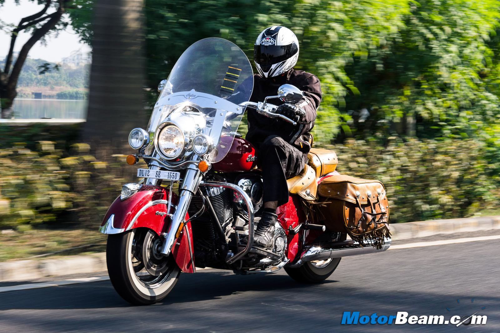 Bikes Reviews In India Indian Chief Vintage Review