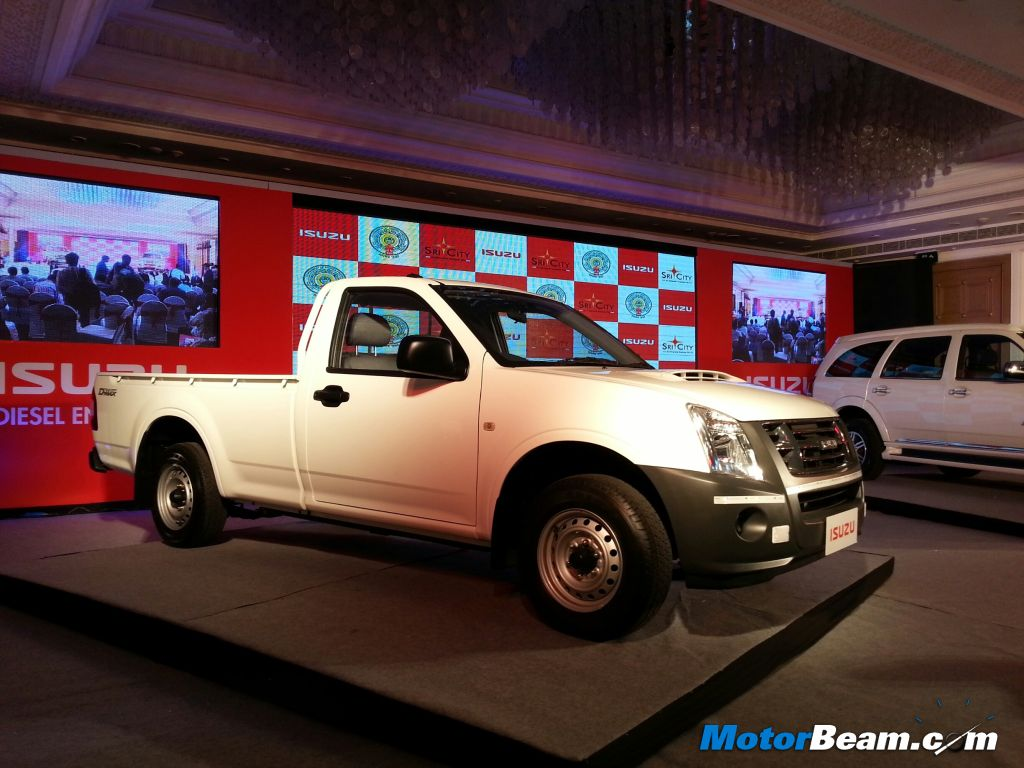 Isuzu D-Max Side
