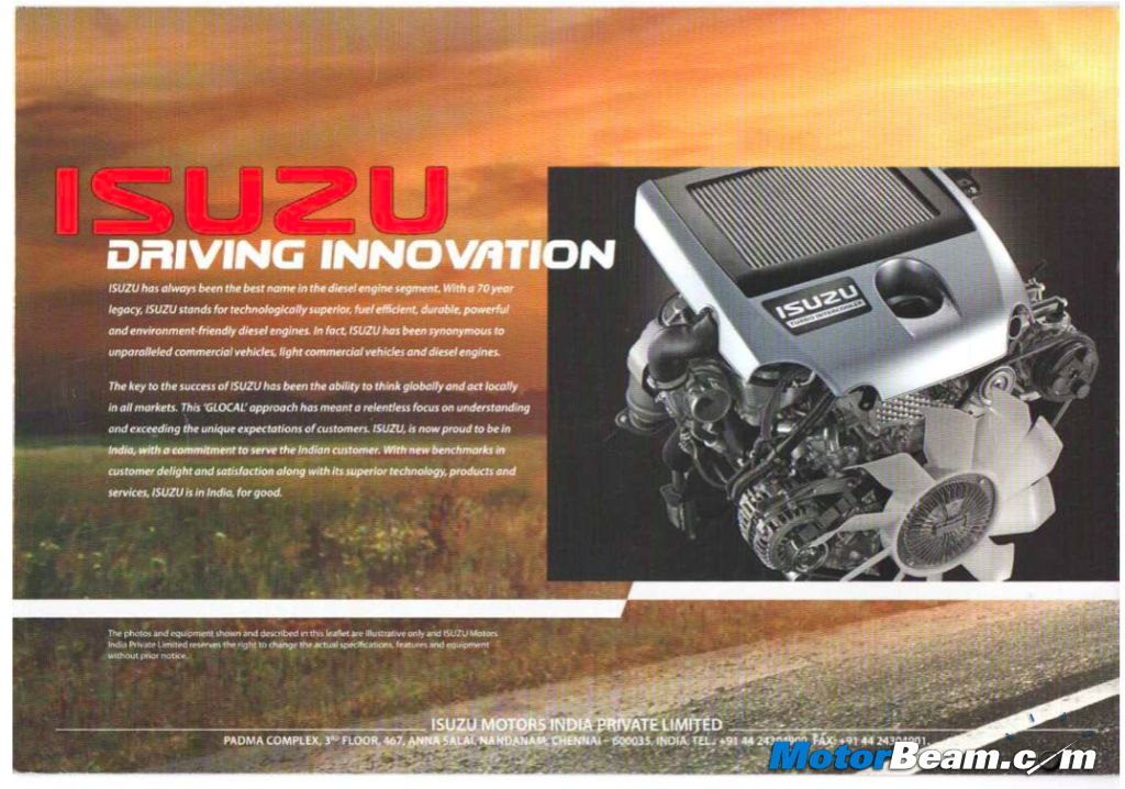 Isuzu India Brochure