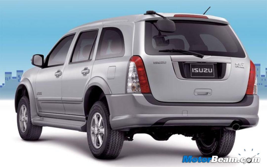 Isuzu Plans India Entry With MPV/SUV