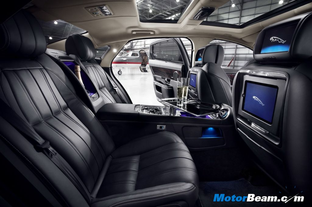 Jaguar XJ Ultimate Rear Seat