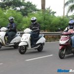 Jupiter vs Activa vs Ray