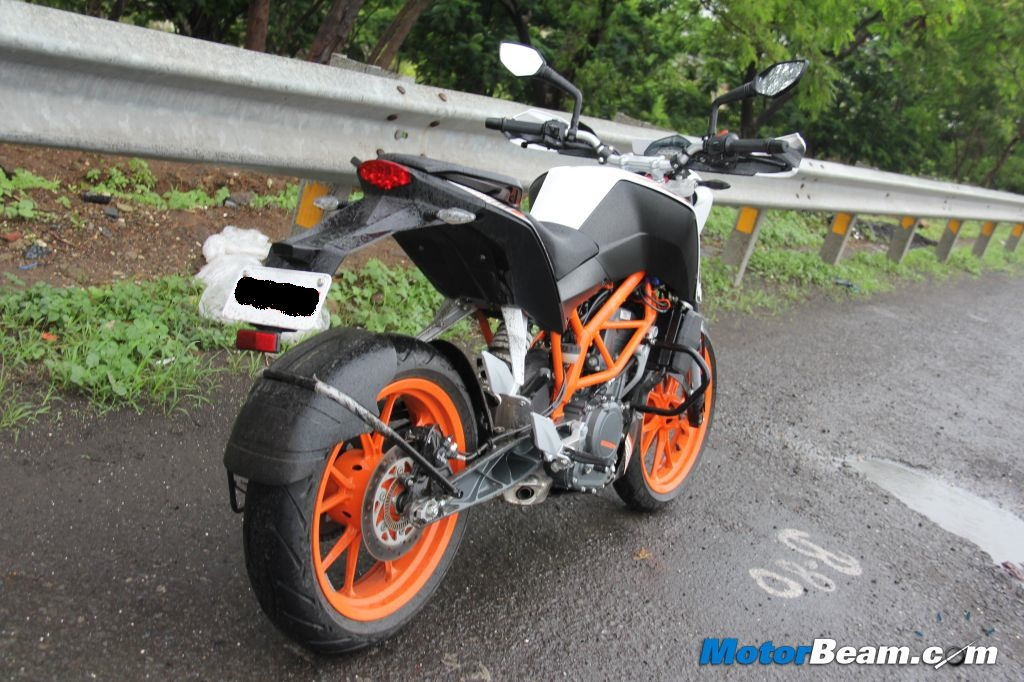 KTM Duke 390 Test Ride