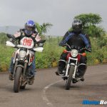 KTM Duke 390 vs Yamaha RD350 Road Test
