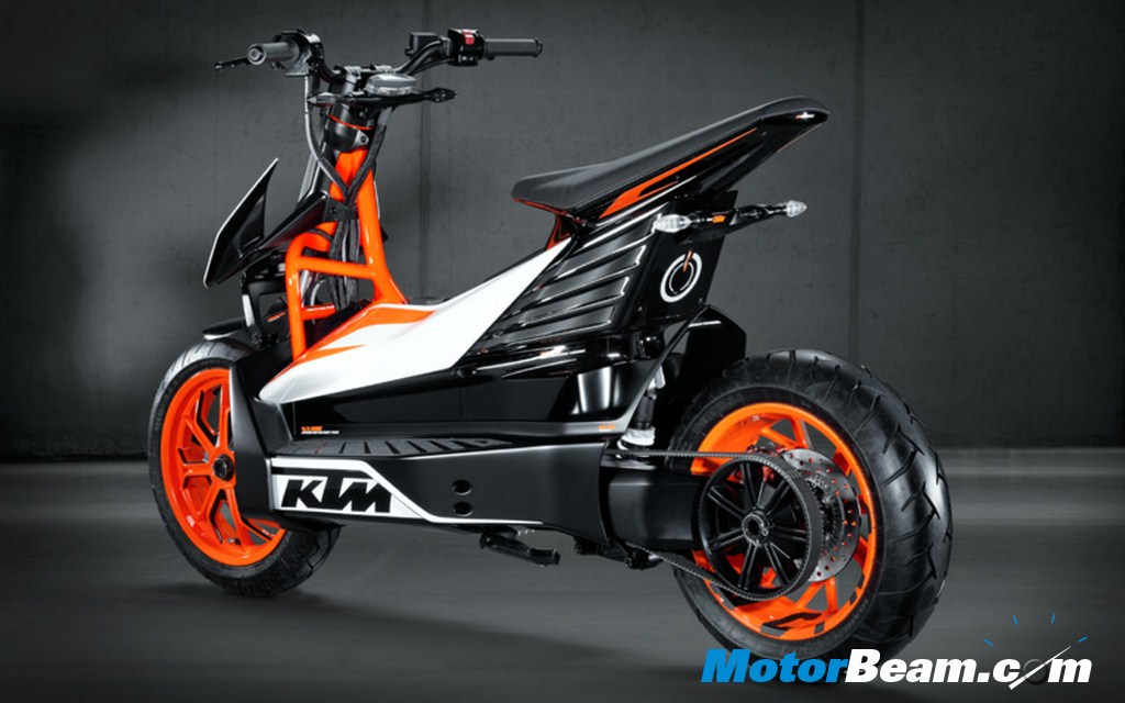 KTM E Speed Rear