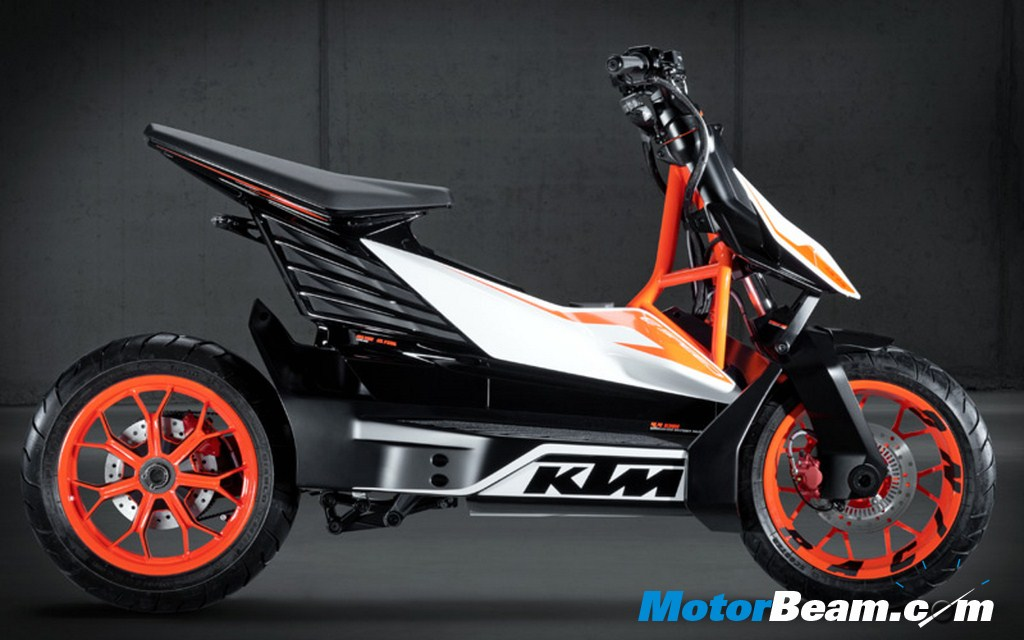 KTM E Speed Side