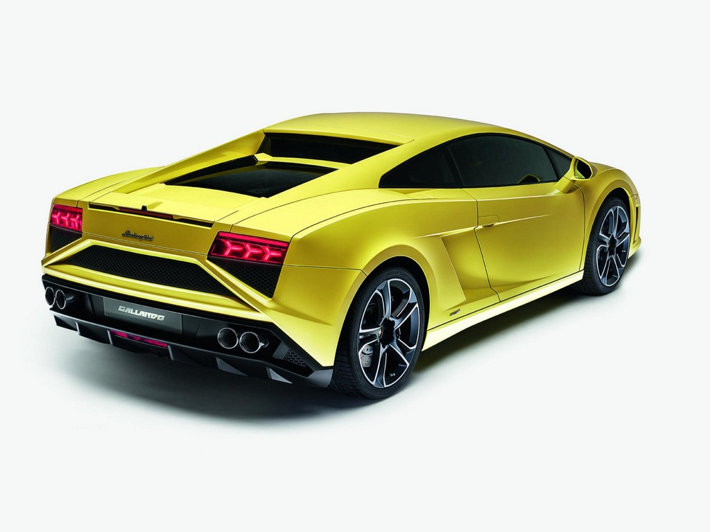Lamborghini Gallardo LP 560-4 Rear
