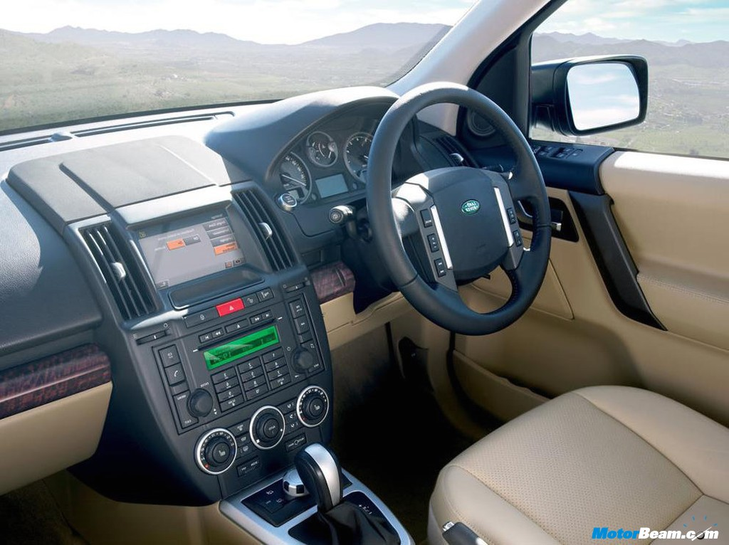 Land Rover Freelander 2 Interior World Activity