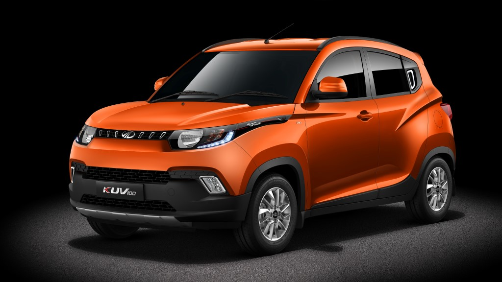 Mahindra KUV100 Side Profile