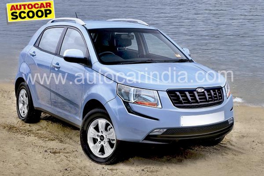 Mahindra S101 Rendering Front
