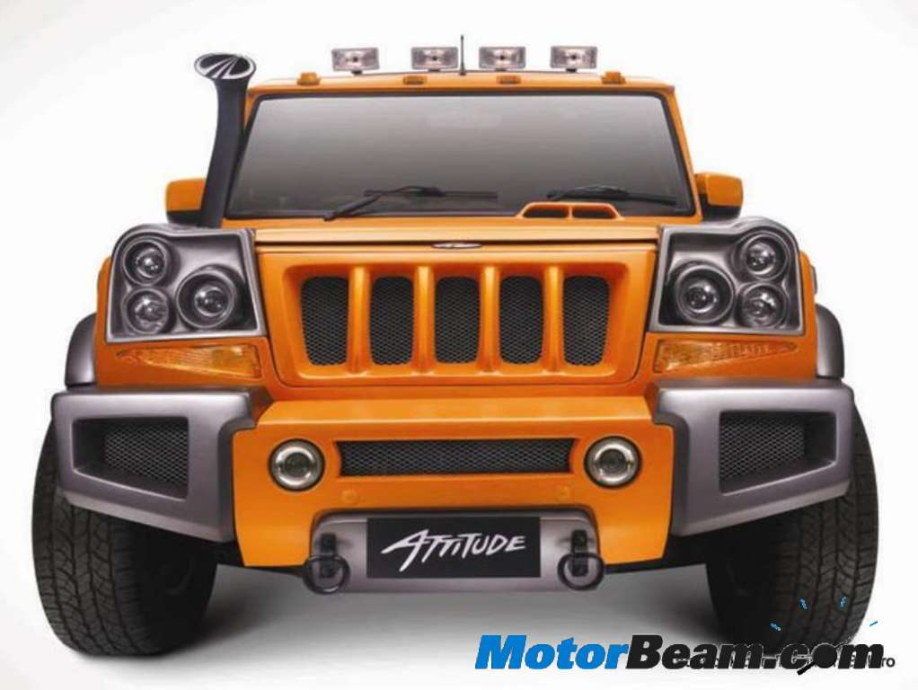Mahindra Customizes Bolero With Attitude