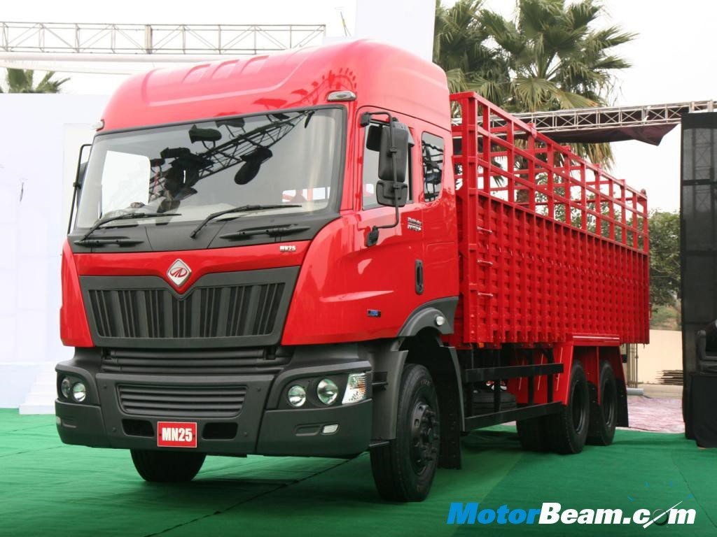 The Gallery For Gt Mahindra Truck