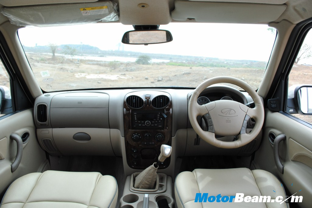 New Mahindra Scorpio Interiors