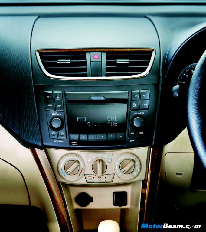 Maruti DZire Regal Music System