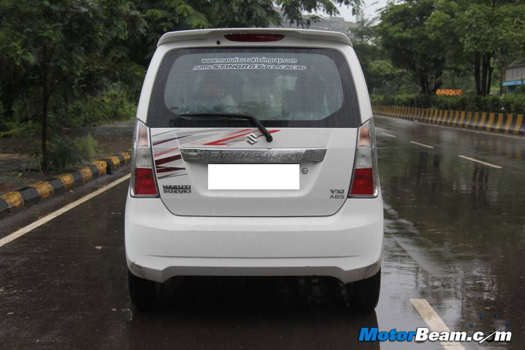 Maruti Wagon R Stingray Test Drive Review
