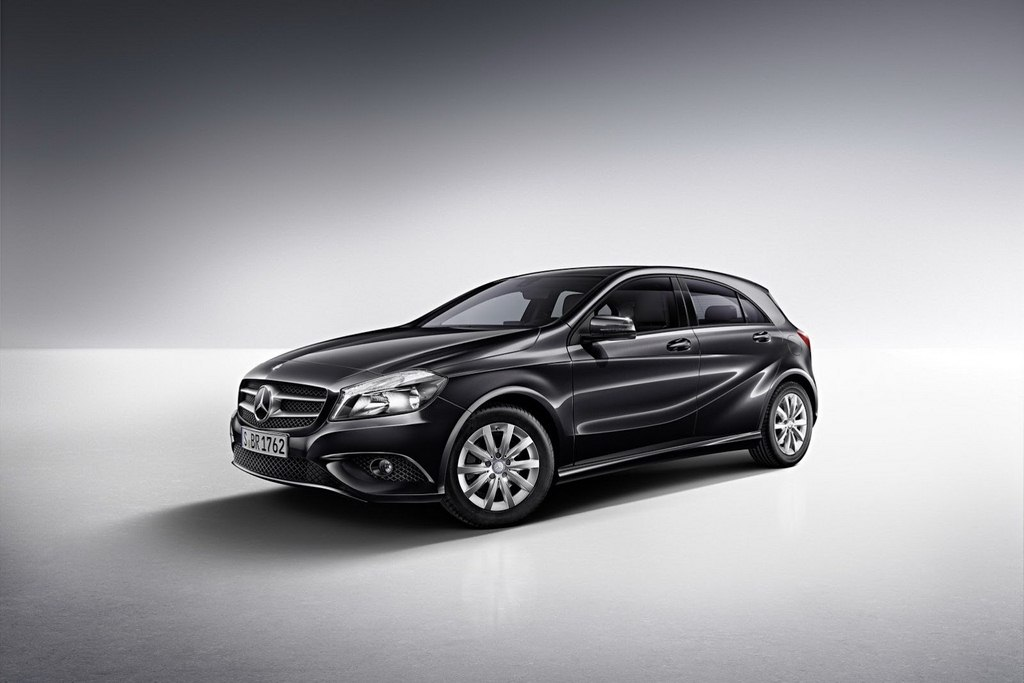 Mercedes A-Class blue efficiency