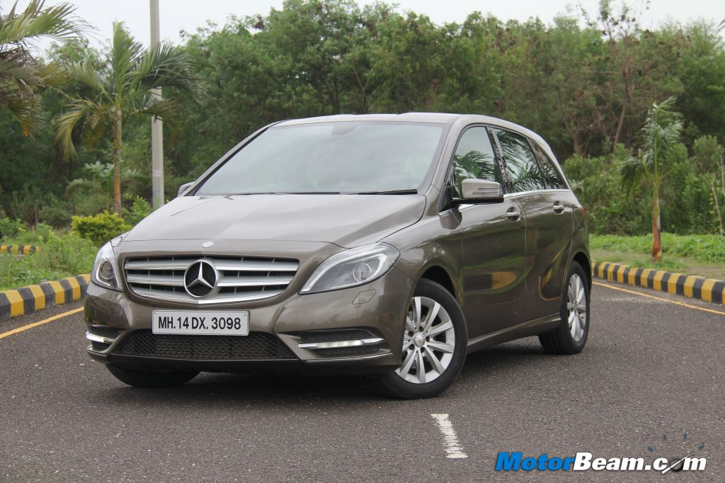Mercedes B-Class Diesel Test Drive Review