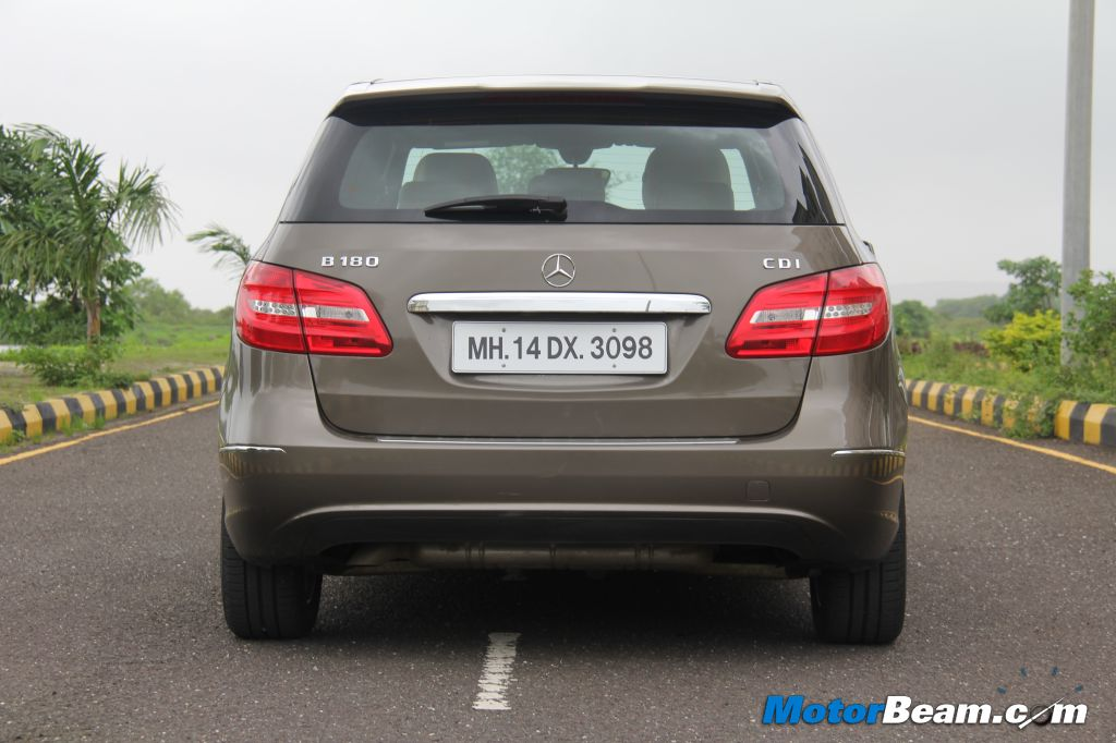 Mercedes B180 CDI Road Test