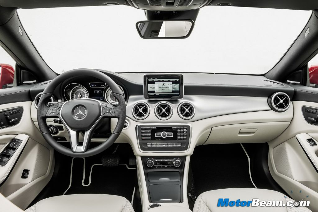 Mercedes-Benz CLA Interiors