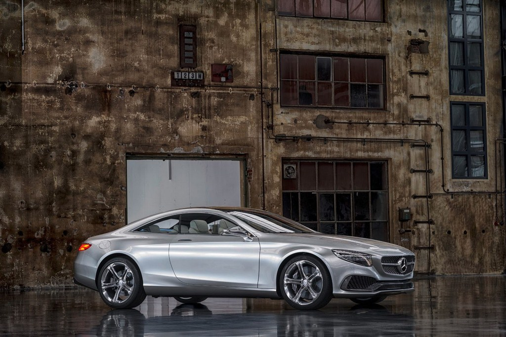 Mercedes-Benz Concept S-Class Coupe Overlook